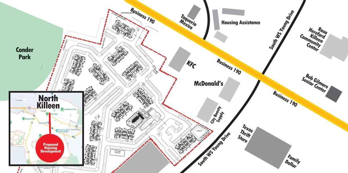 NRP apartment complex location