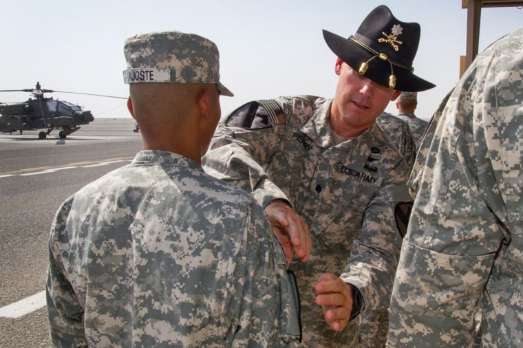 4 227th ARB Receives Combat Patch