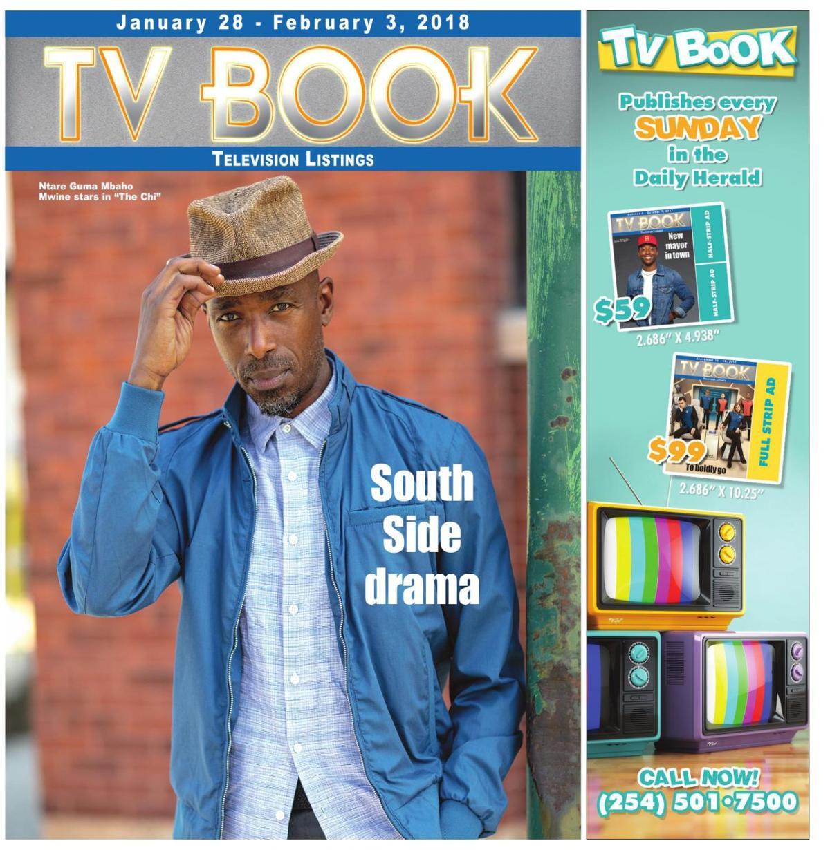 TV Book Jan. 28th - Feb. 3rd