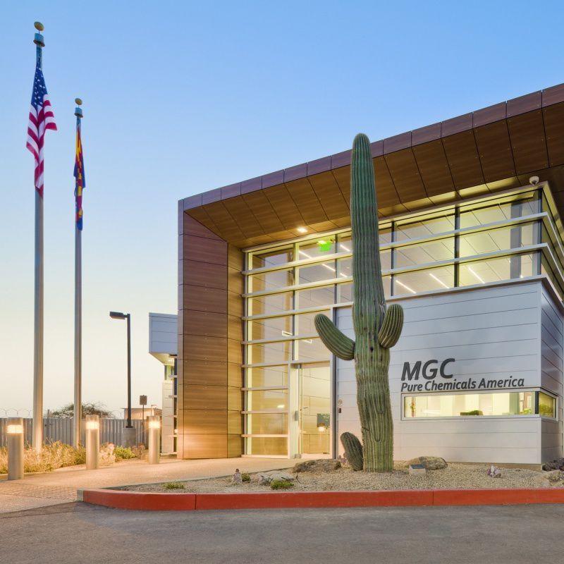 MGC chemical plant