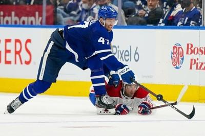 Nylander, Campbell lead the way as Maple Leafs down Canadiens in opener
