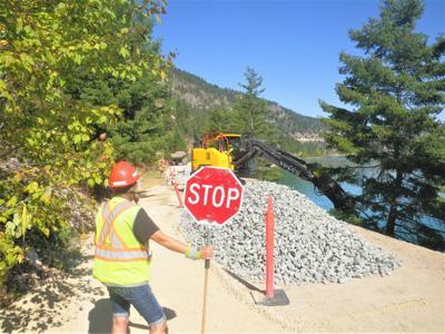 Rail trail repairs