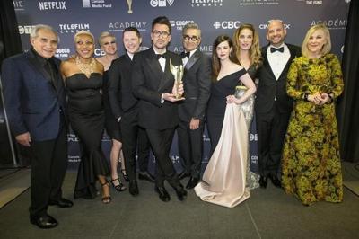 'Schitt's Creek' earns third consecutive ensemble win at ACTRA Toronto Awards