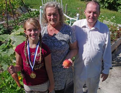 Gardening runs in the family
