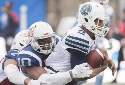 Veteran CFL linebacker Henoc Muamba is settling into life with the Toronto Argonauts