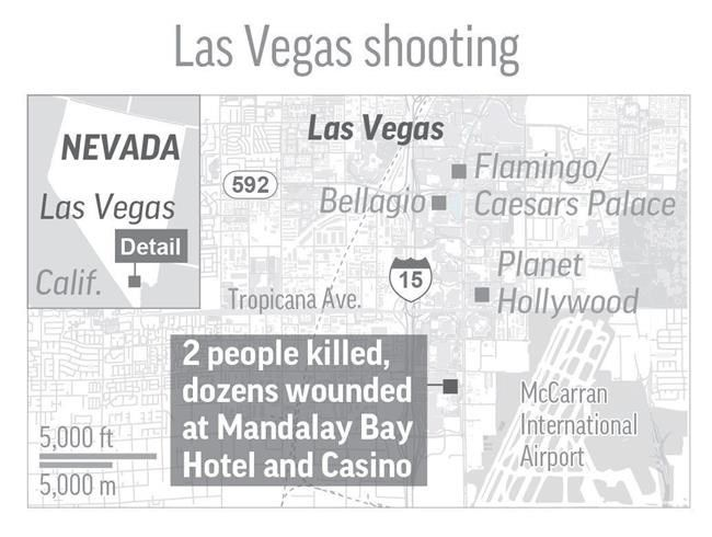 Shooting on Las Vegas Strip kills 20 wounds more than 100