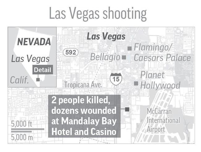 Officers recover 23 guns from Las Vegas shooter's hotel room