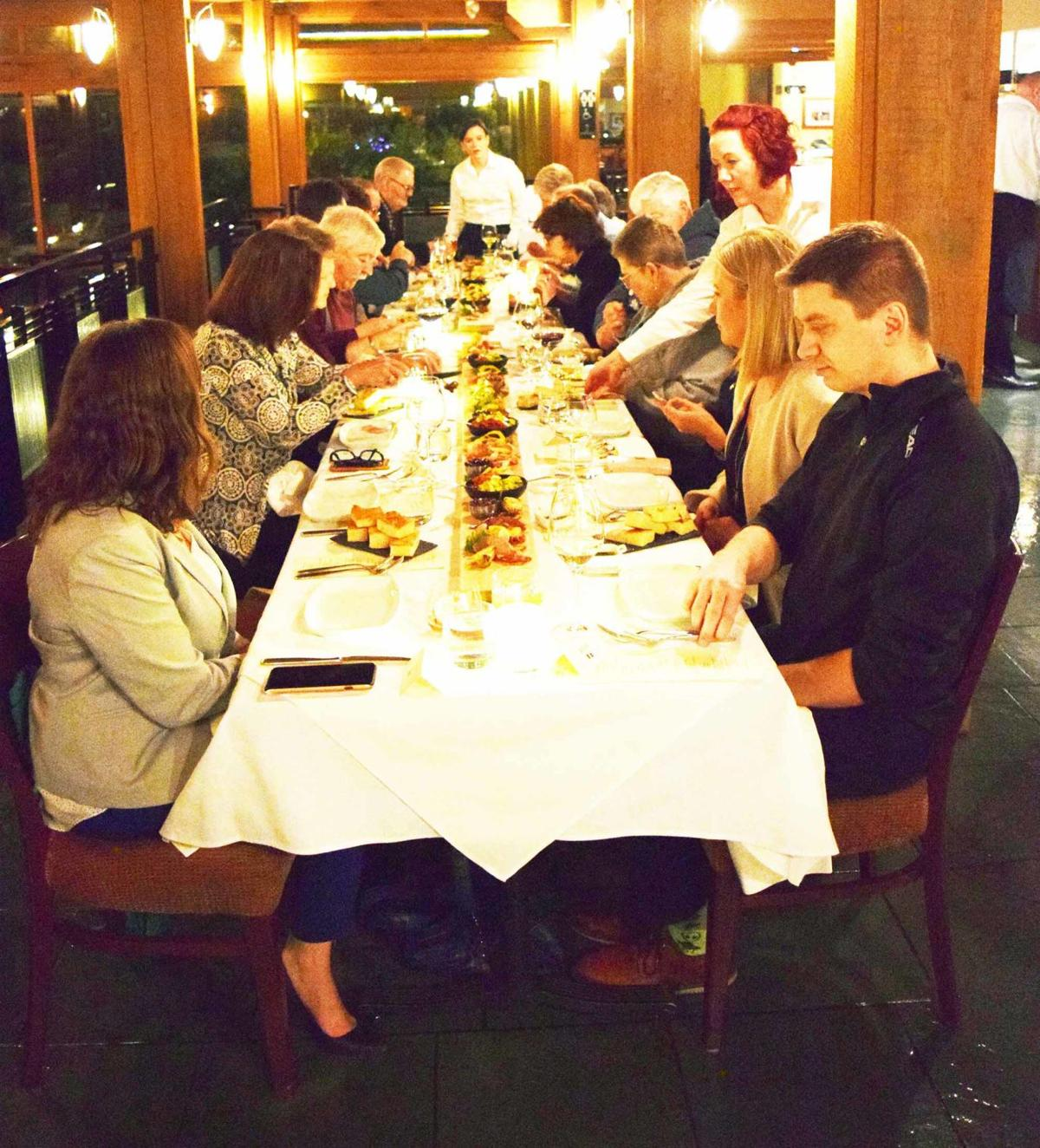 Take a seat at the long table   Business News   kelownadailycourier ca