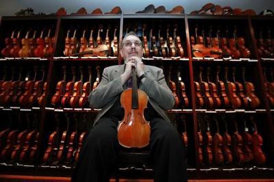 David Bromberg fears huge violin collection must be split up