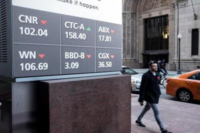 North American stock markets barely move after strong end to last week