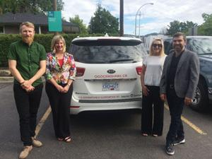 Minivan for OGO Car Share Co-op