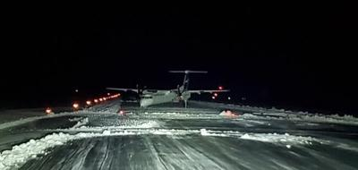 Pile of snow pulled passenger plane off runway in Terrace, B.C.: TSB