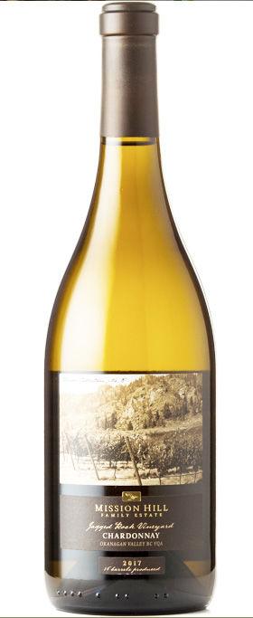 Mission Hill 2017 Terroir Collection Jagged Rock Vineyard Chardonnay ($45)