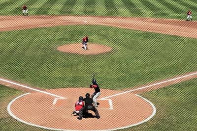 Falcons 4 at HarbourCats 5 (10 inngs.)
