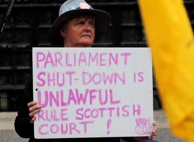UK court: Boris Johnson's suspension of Parliament unlawful