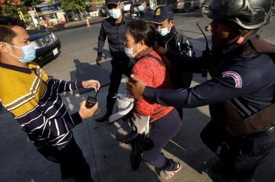 Activist slams 'sham trial' of Cambodia opposition members