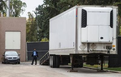 Alberta investigating after medical examiner uses truck trailer for body storage