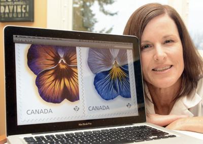 Artist's work chosen by Canada Post