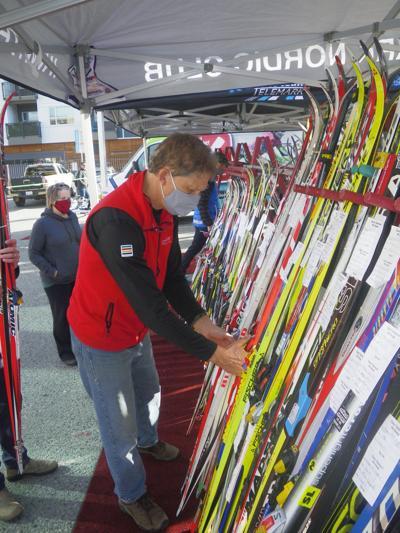Ski swap