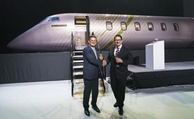 Bombardier updates mid-sized business jet with launch of Challenger 3500