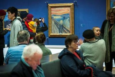 Norway museum: Munch wrote 'madman' sentence on 'The Scream'