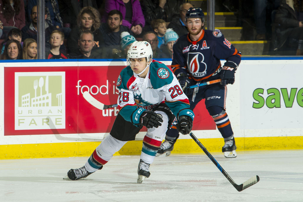 Kamloops Blazers at Kelowna Rockets