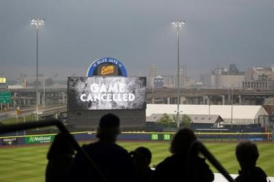 Red Sox-Blue Jays game postponed, will be made up in Toronto