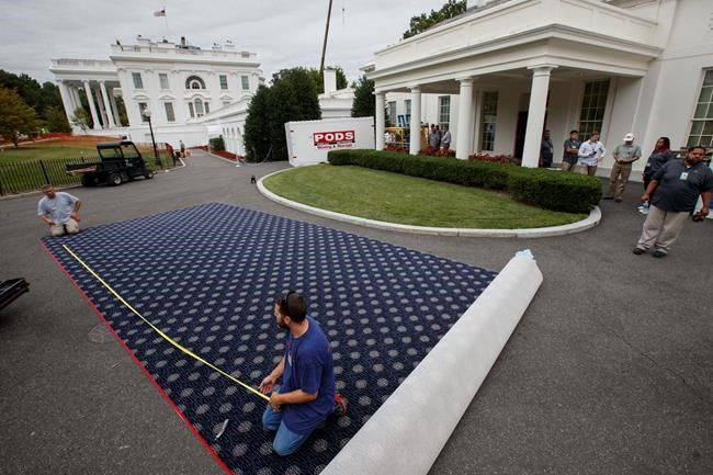 See how renovations at the White House are progressing