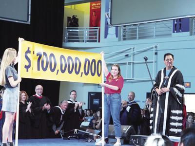 UBCO doubles its goal