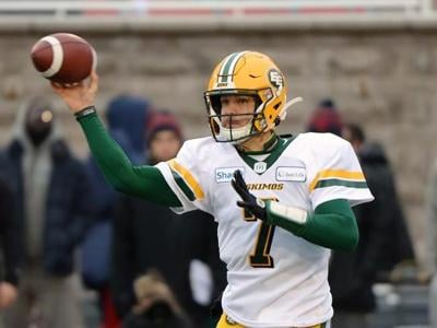 Trevor Harris puts on quite a show as Eskimos down Alouettes in East semifinal