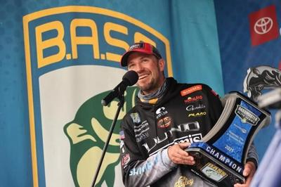 Jeff Gustafson rewarded for nine years of patience with Bassmasters Elite Series win
