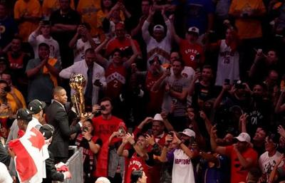 Raptors president Masai Ujiri never doubted his team could go all the way
