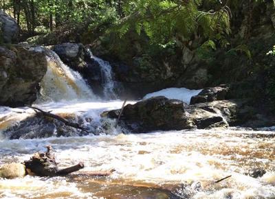 Mill Creek waterfall