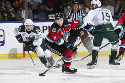 Everett Silvertips at Kelowna Rockets