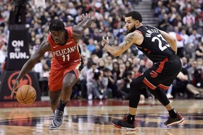 Raptors open NBA season against Pelicans, will also play early Christmas game