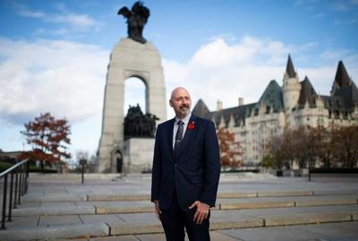 For new Tory MP Alex Ruff, this year's Remembrance Day brings changes