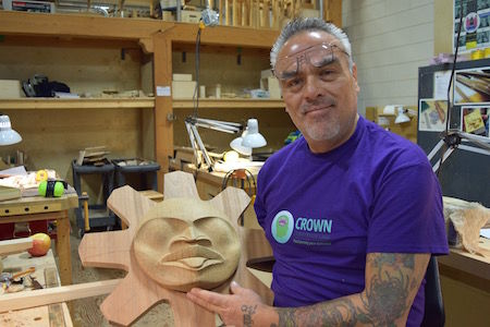 Indigenous carving course offered at college life