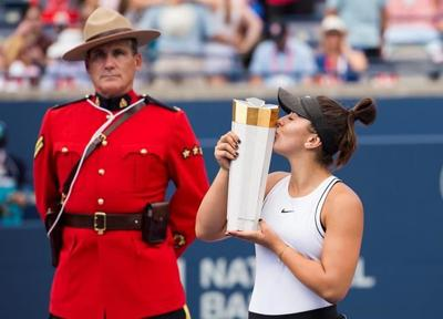 Rogers Cup champions Andreescu and Nadal withdraw from the next tournament