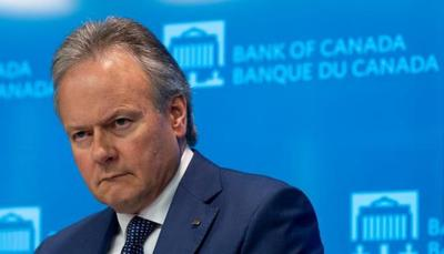 Poloz appears in no rush to move interest rate, warns of trade threats