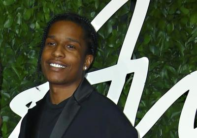 Back for a gig in Stockholm, A$AP Rocky won't play in prison