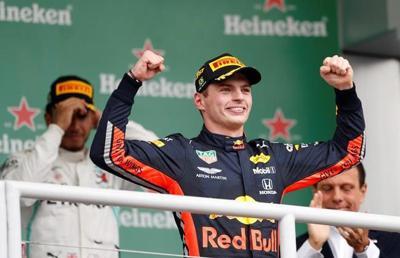 Verstappen wins Brazilian GP, Ferraris self-destruct