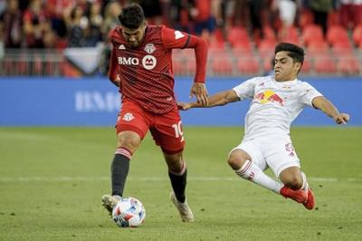 Teenage substitute Ralph Priso scores first MLS goal as TFC ties the Red Bulls 1-1