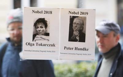 Nobel literature pick heartens liberal Poles in populist era