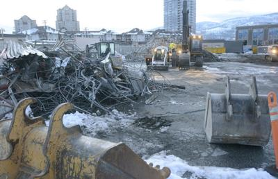 Depot demolished