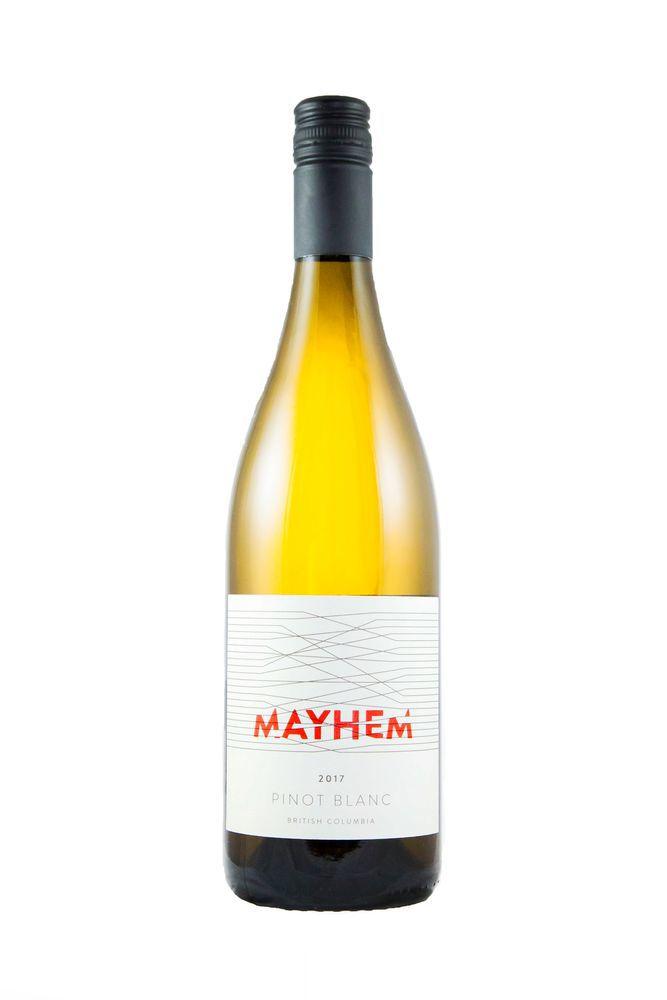 Mayhem Pinot Blanc 2018 ($16)
