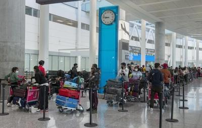 More than 5,000 international air travellers positive for COVID-19 since February