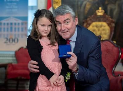 N.S. girl earns bravery award for saving family from van that plunged into river