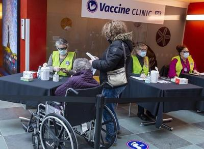 A look at COVID-19 vaccinations in Canada on Monday, Feb. 22, 2021