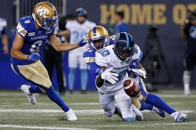 Lucky Whitehead with 104-yard kickoff return, Blue Bombers beat Argonauts