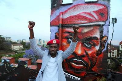 Uganda's opposition pop star Bobi Wine jailed over protest